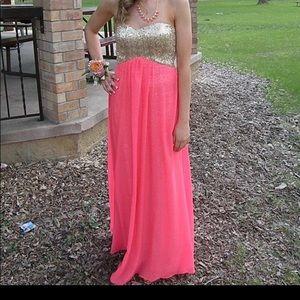 DEB Prom Dress (salmon color)